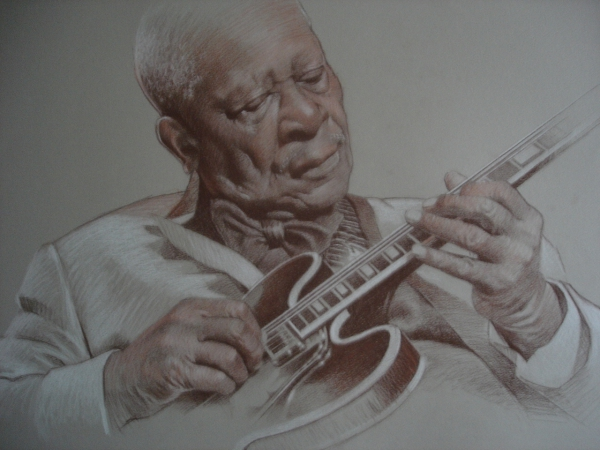 B.B. King by ceceach